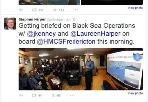 Harper Tweet